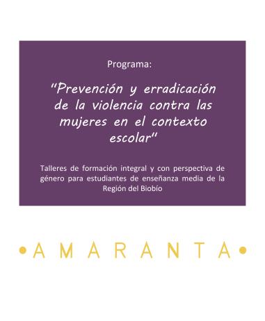 Programa de prevención contra la violencia