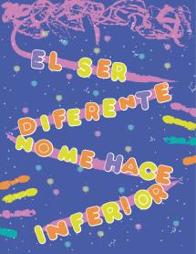 8C El ser diferente no me hace inferior