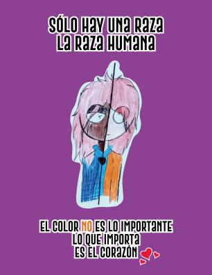 Sólo hay una raza, la raza humana_Mesa de trabajo 1