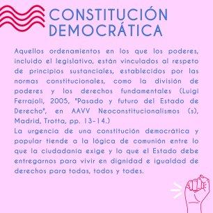 CONSTITUCION DEMOCRATICA