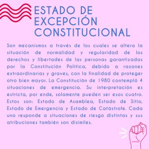 ESTADO DE EXCEPCION CONSTITUCIONAL