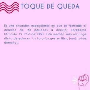 TOQUE DE QUEDA